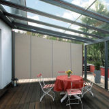 haus in deutschland windschutz terrasse transparent. Black Bedroom Furniture Sets. Home Design Ideas